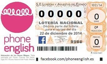 loteria phone english